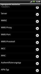 HTC Z710e Sensation - MMS - Manuelle Konfiguration - Schritt 12
