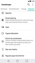 LG G5 SE (H840) - Android Nougat - Fehlerbehebung - Handy zurücksetzen - Schritt 6