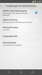 Sony Xperia Z1 Compact - Netzwerk - Netzwerkeinstellungen ändern - Schritt 8