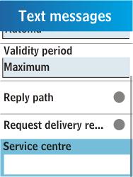 Samsung C3300K - SMS - Manual configuration - Step 6