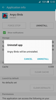 Samsung Galaxy S6 edge+ (G928F) - Applications - How to uninstall an app - Step 8