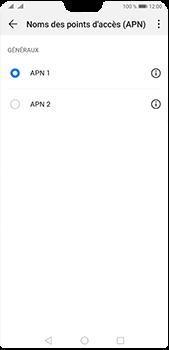Huawei P20 Pro - Android Pie - Internet et roaming de données - Configuration manuelle - Étape 16