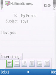 Nokia C5-00 - MMS - Sending pictures - Step 12