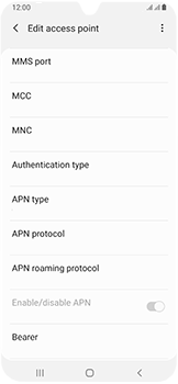 Samsung Galaxy A40 - Internet - Manual configuration - Step 13