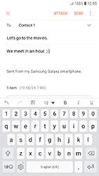 Samsung Galaxy J5 (2017) - E-mail - Sending emails - Step 17