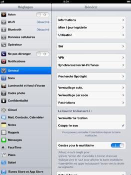 Apple iPad mini - Logiciels - Installation de mises à jour - Étape 6
