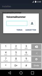LG LG K4 - voicemail - handmatig instellen - stap 9