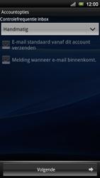 Sony Ericsson MT11i Xperia Neo V - E-mail - handmatig instellen - Stap 13