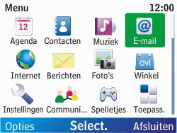 Nokia C3-00 - E-mail - E-mails verzenden - Stap 3