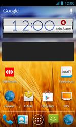 ZTE Blade III - Startanleitung - Installieren von Widgets und Apps auf der Startseite - Schritt 7