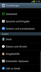 Samsung Galaxy S3 - Fehlerbehebung - Handy zurücksetzen - 2 / 2