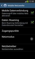 Samsung Galaxy Core Plus - Ausland - Im Ausland surfen – Datenroaming - 10 / 12