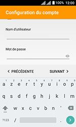 Alcatel U3 - E-mails - Ajouter ou modifier un compte e-mail - Étape 20