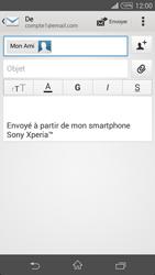 Sony D6603 Xperia Z3 - E-mail - envoyer un e-mail - Étape 7