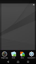 Sony Xperia Z5 - Operazioni iniziali - Installazione di widget e applicazioni nella schermata iniziale - Fase 4