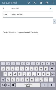 Samsung T335 Galaxy Tab 4 8-0 - E-mail - Envoi d