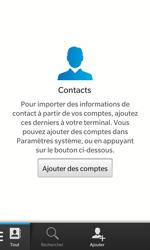 BlackBerry Z10 - Contact, Appels, SMS/MMS - Ajouter un contact - Étape 3