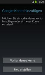 Samsung Galaxy Trend Plus - Apps - Konto anlegen und einrichten - 4 / 28