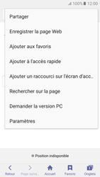 Samsung Galaxy S6 (G920F) - Android M - Internet - navigation sur Internet - Étape 7