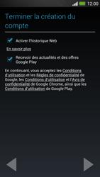 HTC One - Applications - Créer un compte - Étape 18