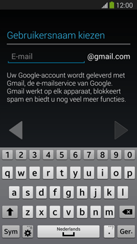 Samsung N9005 Galaxy Note III LTE - Applicaties - Account aanmaken - Stap 7