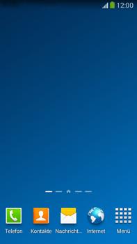 Samsung Galaxy Note III LTE - Startanleitung - Installieren von Widgets und Apps auf der Startseite - Schritt 11