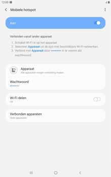 Samsung galaxy-tab-a-8-0-lte-2019-sm-t295 - WiFi - Mobiele hotspot instellen - Stap 12