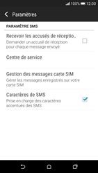 HTC Desire 626 - SMS - Configuration manuelle - Étape 8