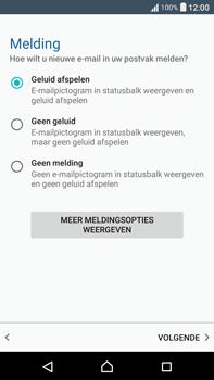 Sony Xperia XA Ultra (F3211) - e-mail - handmatig instellen - stap 14