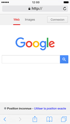 Apple iPhone SE - Internet - Navigation sur Internet - Étape 4