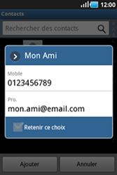 Samsung Galaxy Ace - Contact, Appels, SMS/MMS - Envoyer un MMS - Étape 6