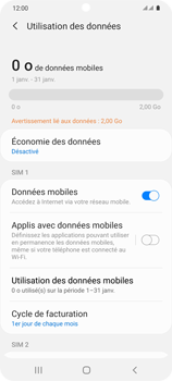 Samsung Galaxy S20 5G - Internet et roaming de données - Configuration manuelle - Étape 6