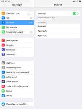 Apple iPad Mini 3 - iOS 12 - Bluetooth - koppelen met ander apparaat - Stap 7