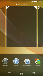 Sony Xperia Z2 - Getting started - Installing widgets and applications on your start screen - Step 4