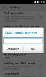 Huawei Ascend Y330 - SMS - Handmatig instellen - Stap 6
