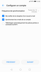 Huawei P10 - Android Oreo - E-mail - Configuration manuelle - Étape 18