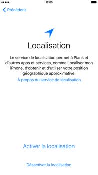 Apple iPhone 6s Plus - Premiers pas - Créer un compte - Étape 10