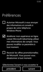 Nokia Lumia 635 - Applications - Créer un compte - Étape 20