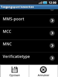 Samsung S5570 Galaxy Mini - internet - handmatig instellen - stap 11