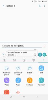 Samsung Galaxy J4+ - MMS - Erstellen und senden - Schritt 16