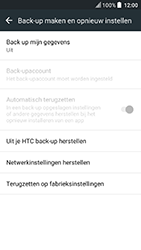 HTC U Play - Resetten - Fabrieksinstellingen terugzetten - Stap 5