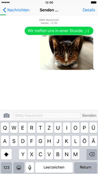 Apple iPhone 6 Plus mit iOS 9 - MMS - Erstellen und senden - Schritt 16