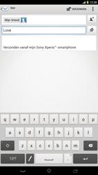 Sony C6833 Xperia Z Ultra LTE - E-mail - hoe te versturen - Stap 9