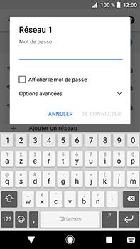 Sony Xperia XA2 Ultra - Wi-Fi - Accéder au réseau Wi-Fi - Étape 8