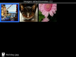 BlackBerry 9320 - Photos, vidéos, musique - Envoyer une photo via Bluetooth - Étape 8