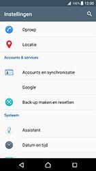 Sony Xperia XZ Premium - Voicemail - Handmatig instellen - Stap 4