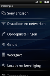 Sony Ericsson Xperia Mini Pro - Bellen - in het buitenland - Stap 4