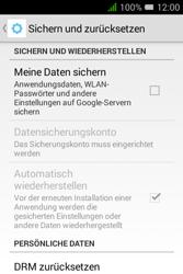 Alcatel OT-4009D Pixi 3 (3.5) - Fehlerbehebung - Handy zurücksetzen - Schritt 7