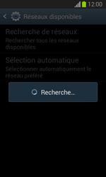 Samsung Galaxy Trend Lite - Réseau - Sélection manuelle du réseau - Étape 7