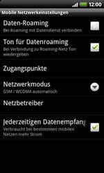 HTC Desire Z - Internet - Manuelle Konfiguration - 6 / 21